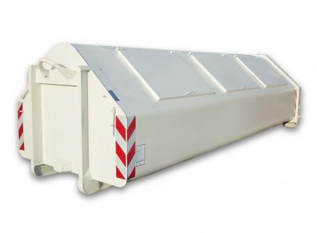 Kontener do odpadów komunalnych hakowy- kontener śmieciarka