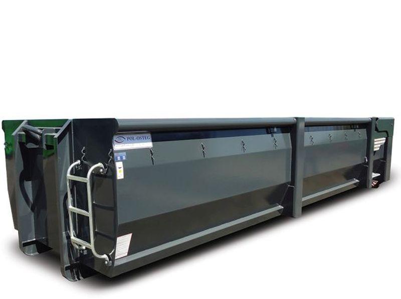 Kontener metalowy EKO-1 z klapą hydrauliczną