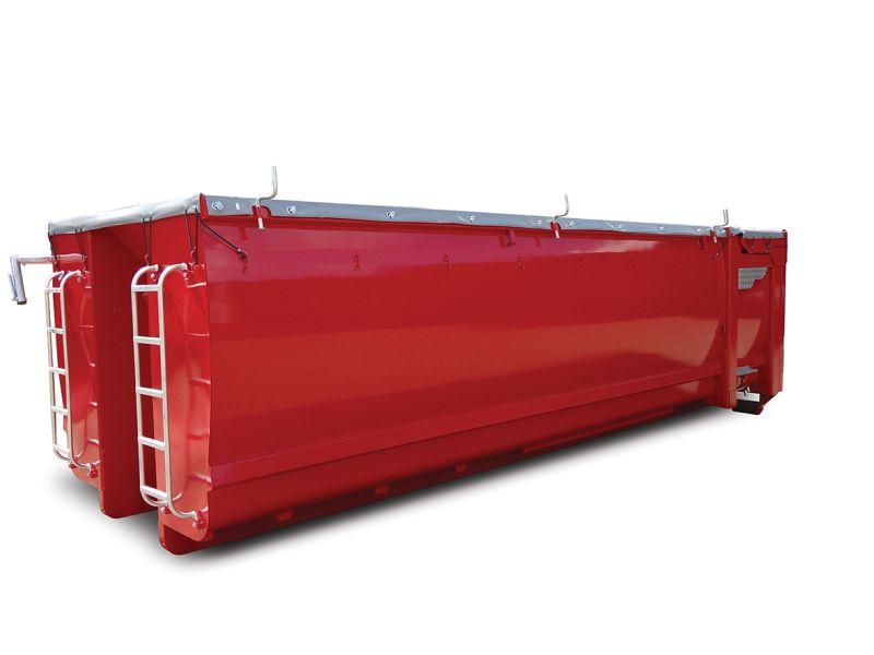 Kontener EKO-2 o pojemności 32 m³ z klapami hydraulicznymi