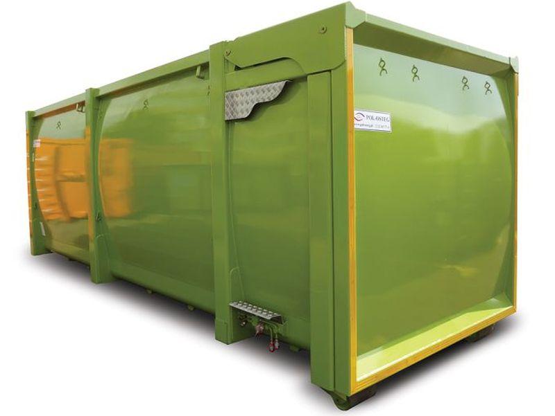 kontener EKO-4 z klapami