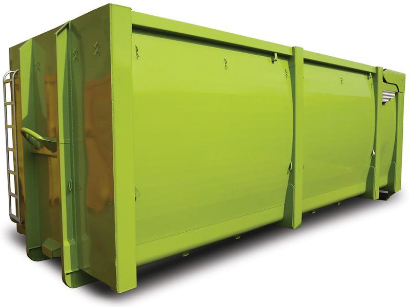 kontener EKO-4 z klapami hydraulicznymi