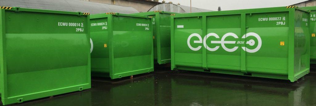 EKO-BOX IMG kontener do transportu kolejowego