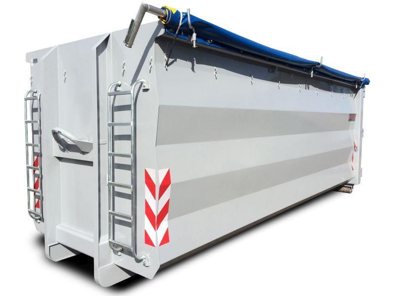 Boxx (Hardox) kontener hakowiec