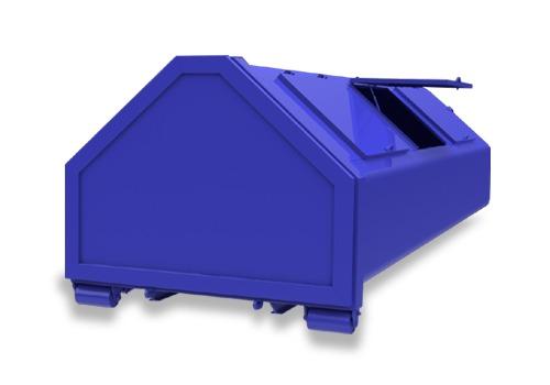 kontener śmieciarka