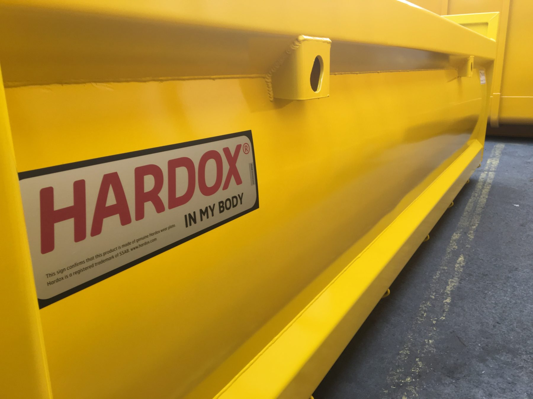 kontener Hardox
