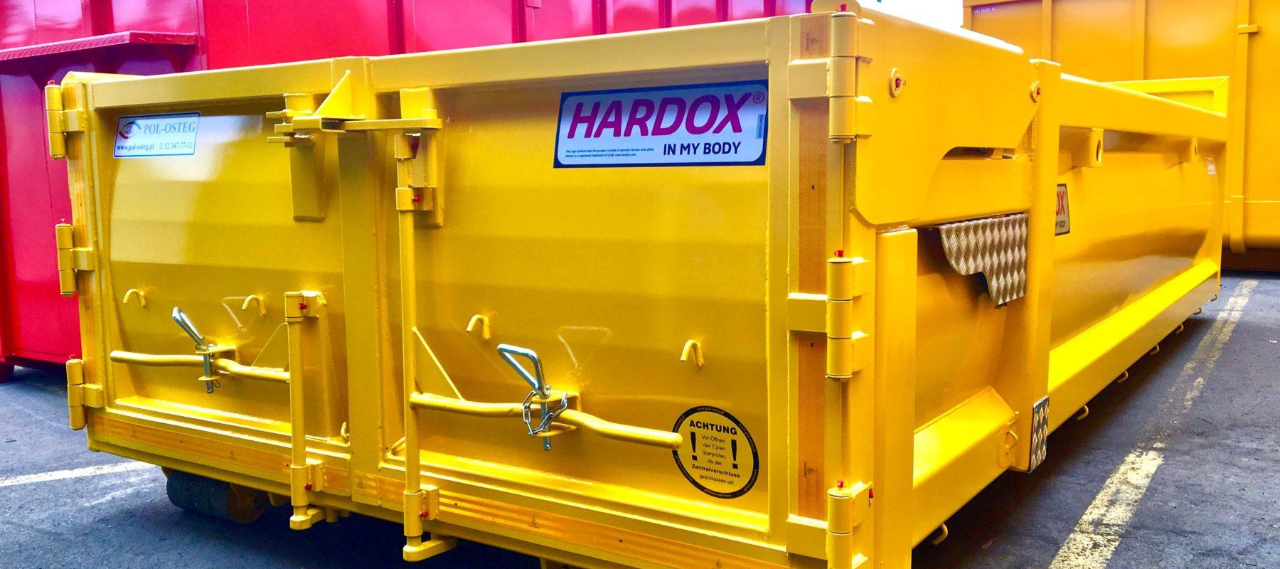 kontener stalowy HARDOX